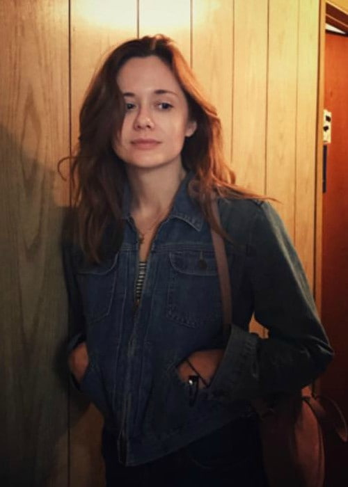 Nora Zehetner as seen in April 2018