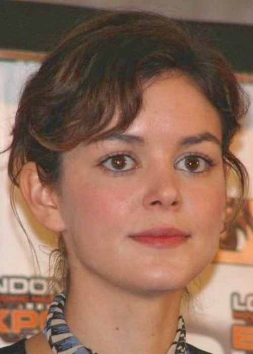 Nora Zehetner at London Expo in October 2007