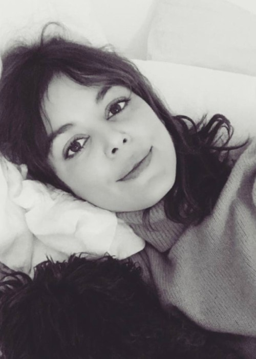 Nora Zehetner in an Instagram selfie as seen in April 2018