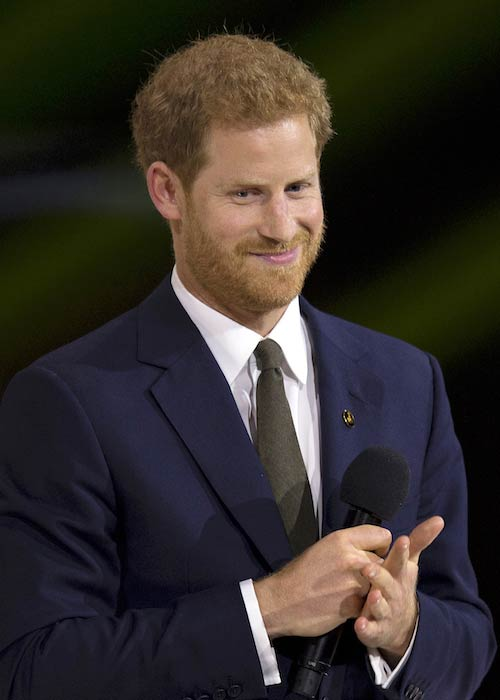 Prince Harry at the 2017 Invictus Games opening ceremony