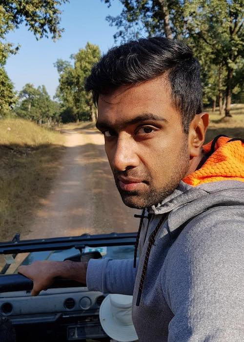Ravichandran Ashwin on a Sunday morning in December 2017
