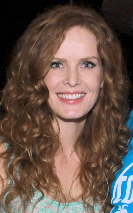Rebecca Mader at Magic City Comic-Con in January 2015