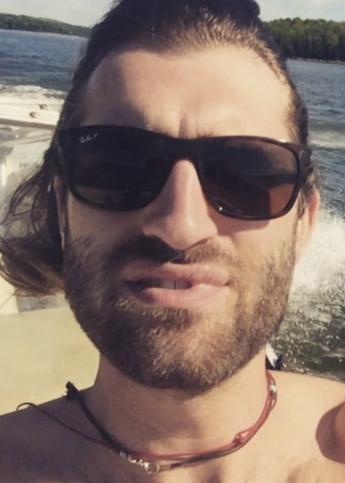 Ryan Hurd in an Instagram selfie as seen in April 2016