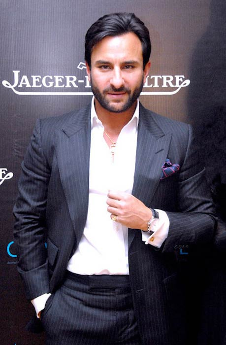 Saif Ali Khan while at Imperial Hotel New Delhi in 2012