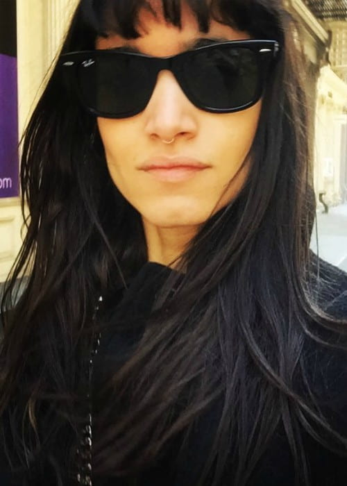 Sofia Boutella in an Instagram selfie as seen in March 2017