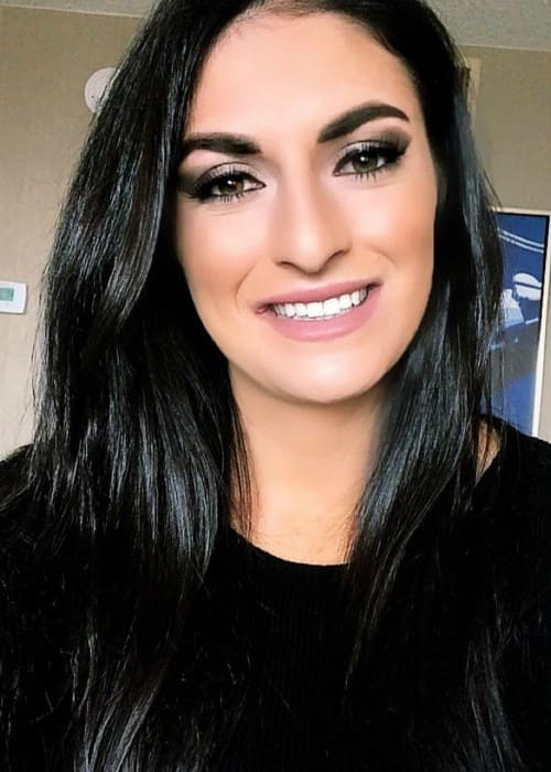 Sonya Deville as seen in January 2018