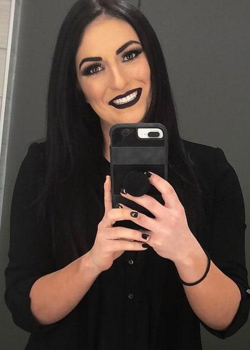Sonya Deville in an Instagram selfie as seen in March 2018