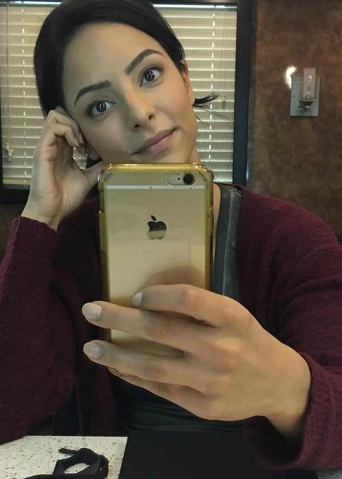 Tala Ashe in a selfie as seen in October 2017