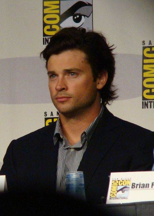 Tom Welling at Comic-Con International 2010