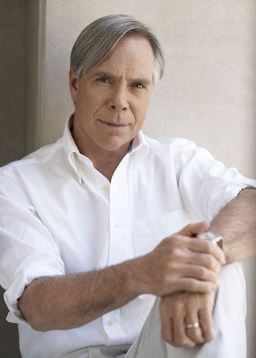 Tommy Hilfiger during a photoshoot in 2009