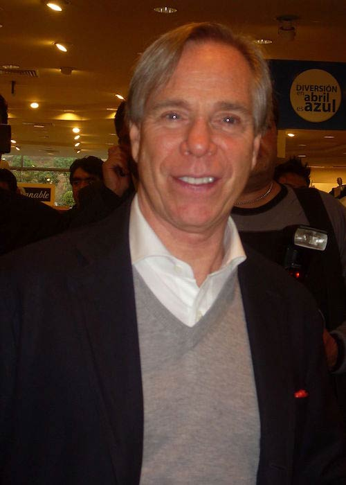 Tommy Hilfiger during an event in 2010