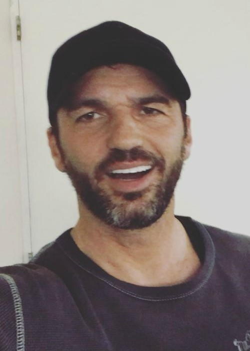 Tony Dovolani in a selfie in March 2018