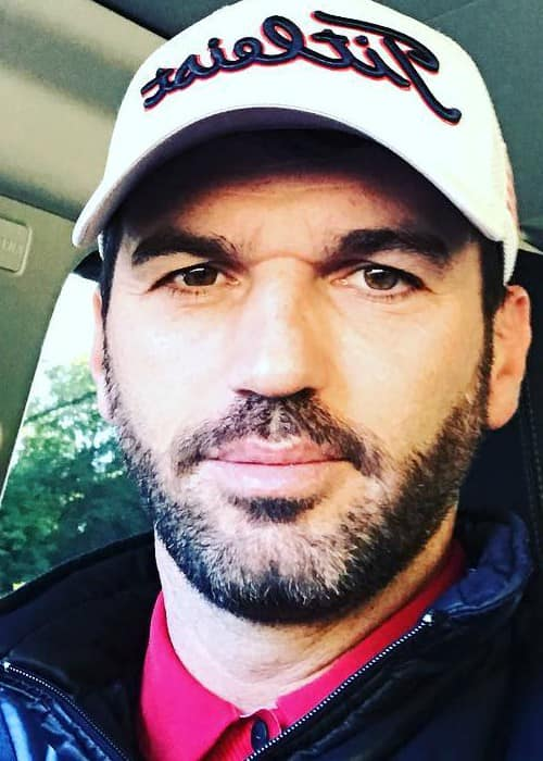 Tony Dovolani in an Instagram selfie as seen in September 2017