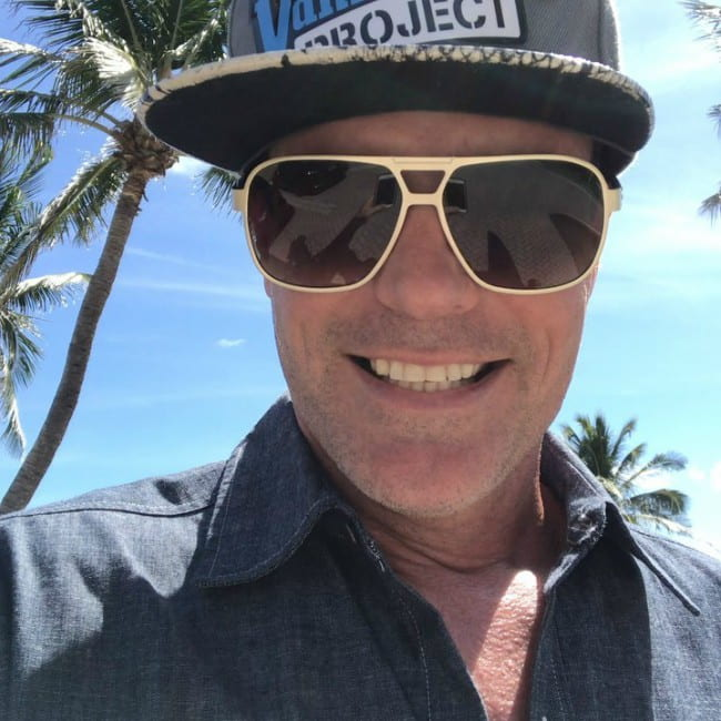 Vanilla Ice in an Instagram selfie as seen in July 2020