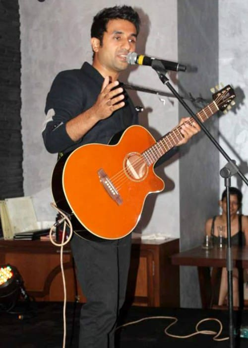 Vir Das at Apicus as seen in June 2012