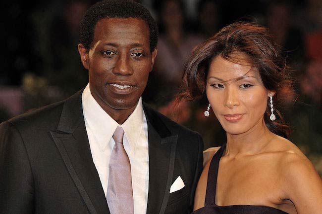 Wesley Snipes and Lucy Liu during 66th Venice Film Festival in 2009