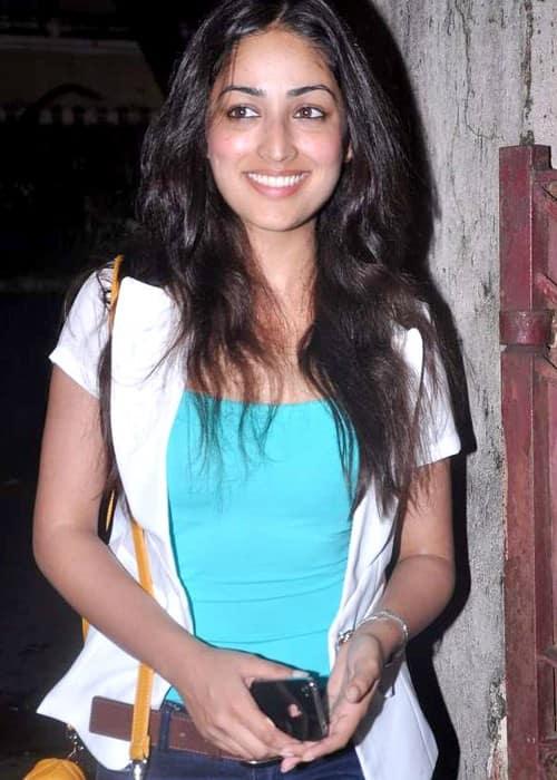 Yami Gautam at the screening of 'Bol Bachchan' in July 2012