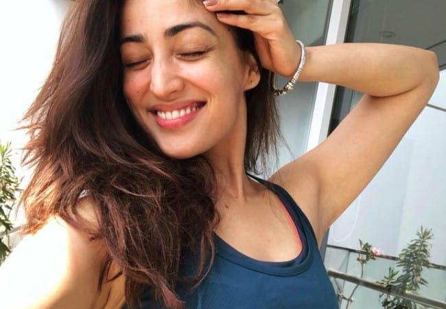 Yami Gautam in an Instagram selfie as seen in April 2018