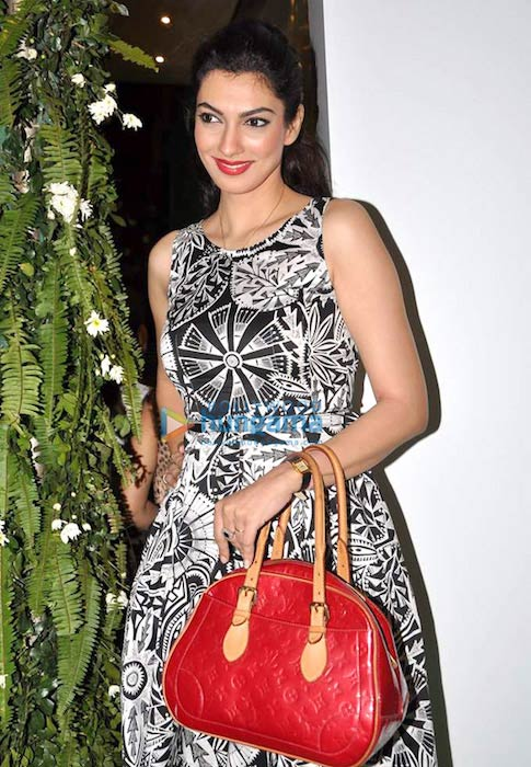 Yukta Mookhey at the Marc Cain store launch in 2013
