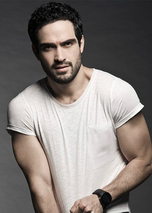 Alfonso Herrera as seen in August 2015
