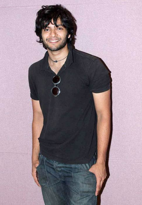 Ali Fazal at The Javed Ali's song recording for film 'Baat Bann Gayi' in 2013