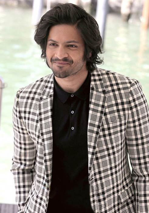 "Ali Fazal during the world premiere of ""Victoria & Abdul"" in 2017"
