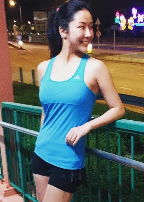 Anita Chui as seen in December 2017