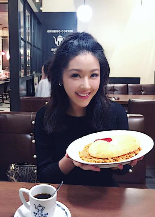 Anita Chui in an Instagram post in October 2017