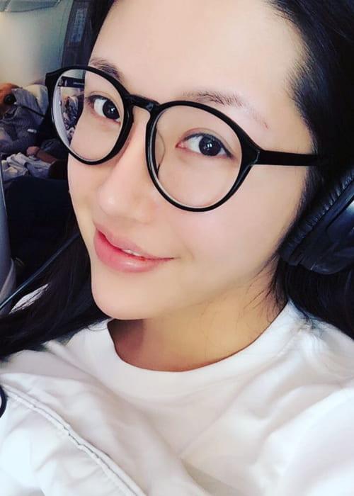Anita Chui in an Instagram selfie as seen in November 2017
