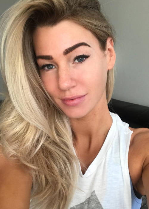 Anna Victoria in an Instagram selfie as seen in November 2017