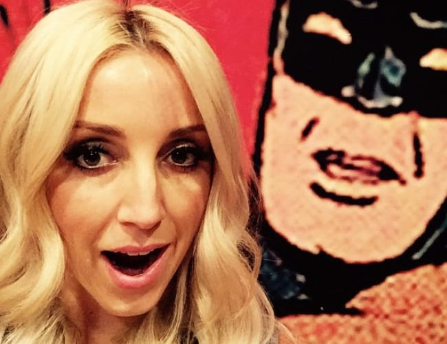 Ashley Monroe in a selfie in May 2015