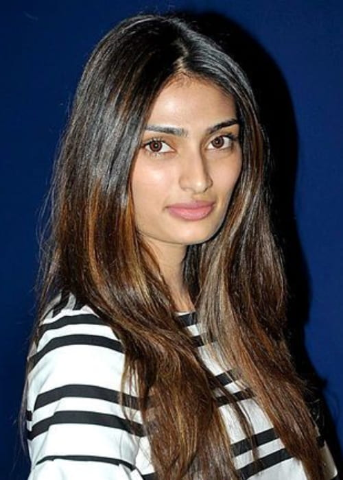 Athiya Shetty at the special screening of Hero in October 2015