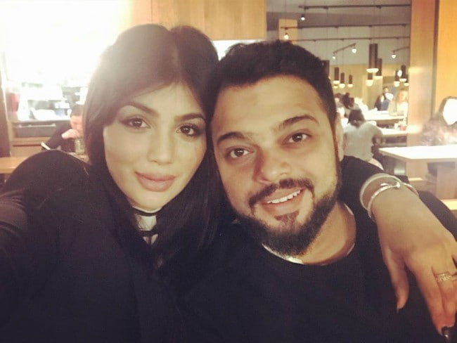 Ayesha Takia and Abu Farhan Azmi as seen in February 2018