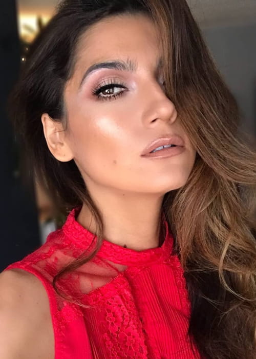 Blanca Blanco in an Instagram selfie as seen in March 2018