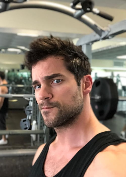 Brant Daugherty as seen in April 2018