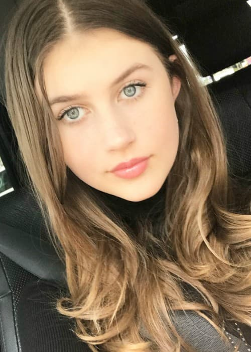 Brooke Butler in an Instagram selfie as seen in April 2018