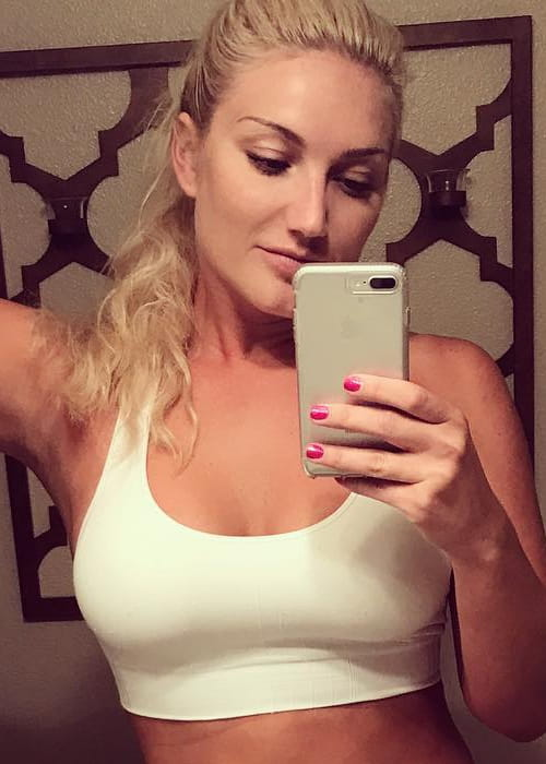 Brooke Hogan in a selfie as seen in August 2017