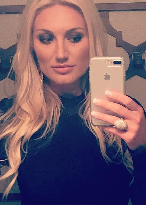 Brooke Hogan in a selfie in June 2017