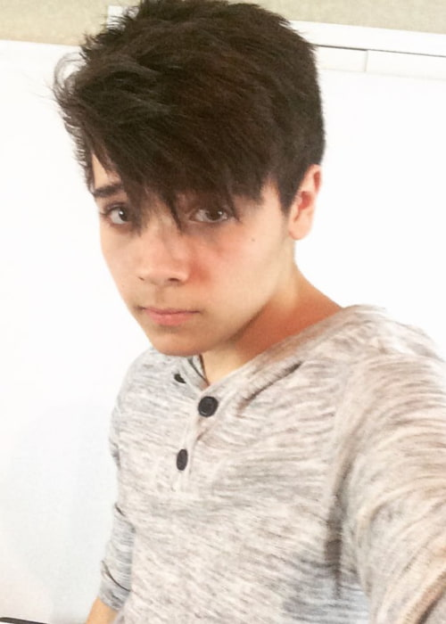 Cameron Ocasio in a selfie in March 2016