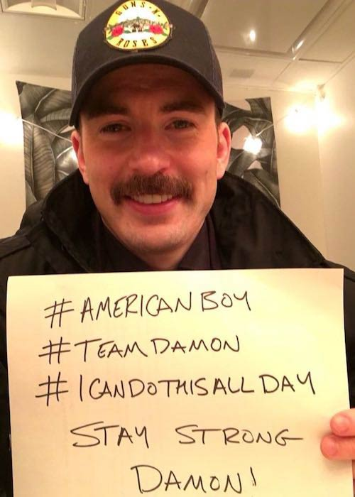 Chris Evans motivating Matt Damon