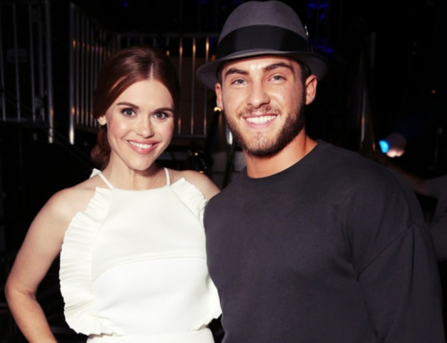 Cody Christian and Holland Roden as seen in February 2017
