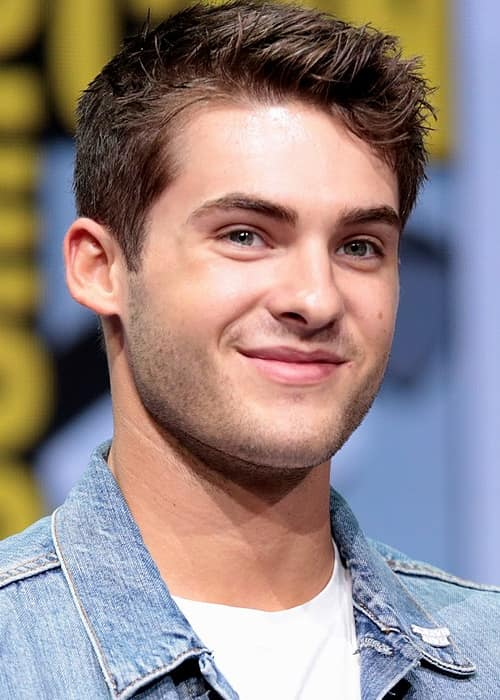 Cody Christian speaking at the 2017 San Diego Comic-Con International