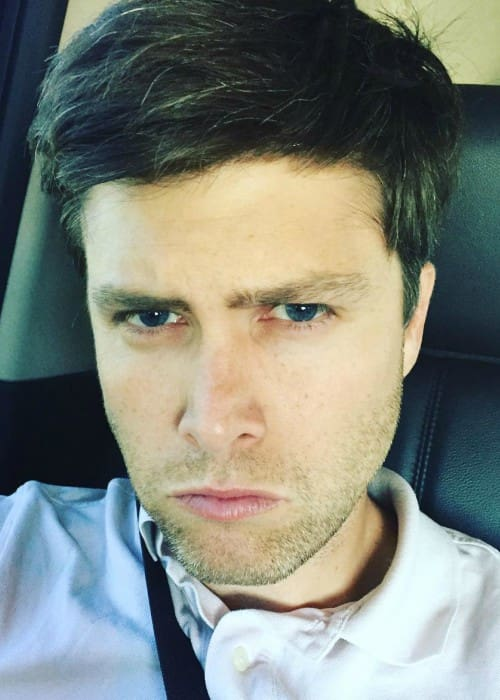 Colin Jost in an Instagram selfie as seen in June 2016