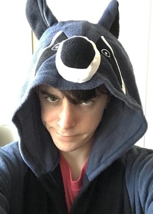 CrankGameplays in a selfie as seen in April 2018