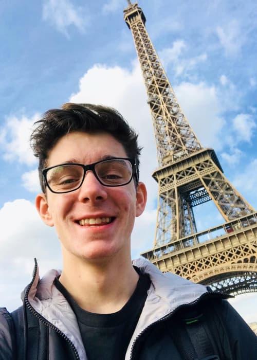 CrankGameplays in a selfie in February 2018
