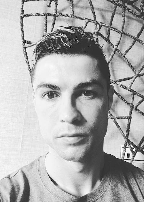 Cristiano Ronaldo in an Instagram selfie in March 2018