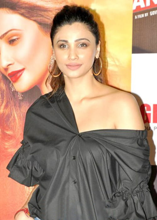 Daisy Shah at the launch of her film Ramratan in September 2017