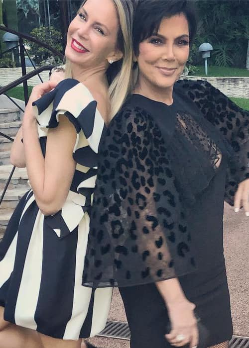 Dee Ocleppo (Left) and Kris Jenner as seen in May 2018