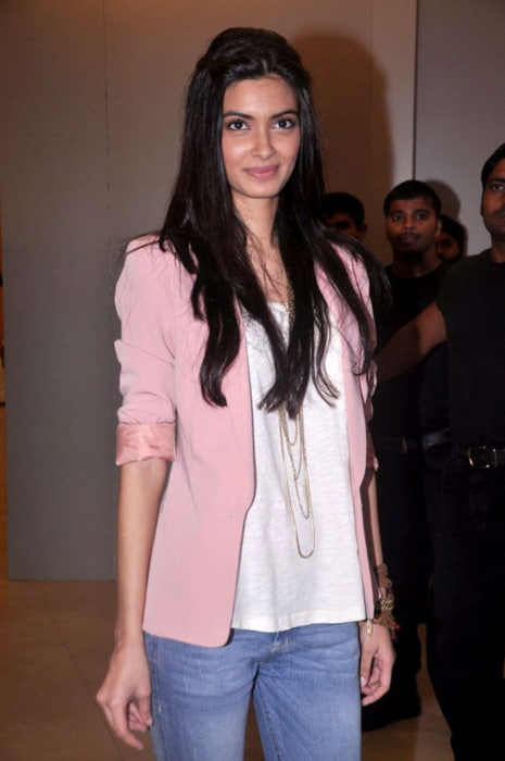 Diana Penty promoting Cocktail in July 2012