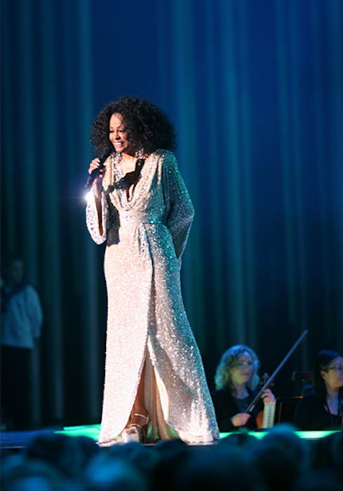 Diana Ross during Nobel Peace Prize Concert 2008 in Oslo